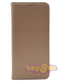 Smart Case Book Gold-Huawei P Smart Z