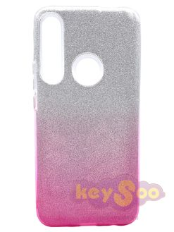 Forcell SHINING Case Transparent Pink-Huawei P Smart Z