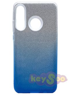 Forcell SHINING Case Transparent Blue-Huawei P30 Lite