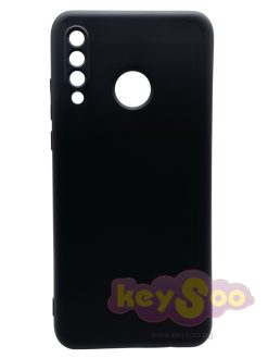 Forcell SILICONE LITE Case Black-Huawei P30 Lite