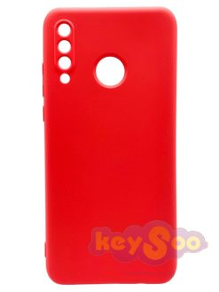 Forcell SILICONE LITE Case Pink-Huawei P30 Lite
