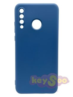 Forcell SILICONE LITE Case Blue-Huawei P30 Lite