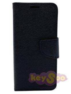 Fancy Book Case Black-Huawei P30 Lite