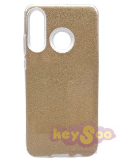 Forcell SHINING Case Gold-Huawei P30 Lite