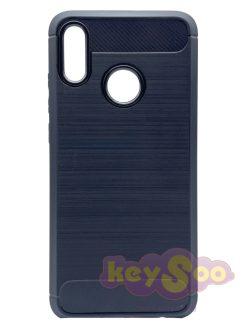 Carbon Case Black-Huawei P Smart 2019