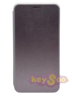 Book Elegance Grey-Huawei P Smart 2019