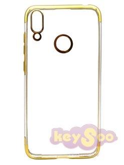 NEW ELECTRO Case Gold-Huawei Y7 2019