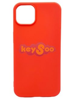 Forcell SILICONE LITE Case pink - iPhone 13