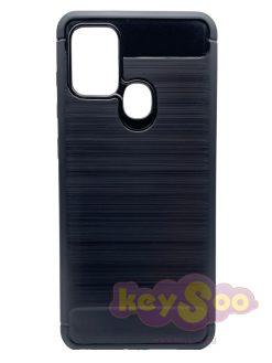 Carbon Case Black-Samsung Galaxy A21s