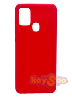 Forcell SOFT Case Red-Samsung Galaxy A21s