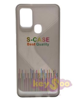 Forcell S-Case Black-Samsung Galaxy A21s
