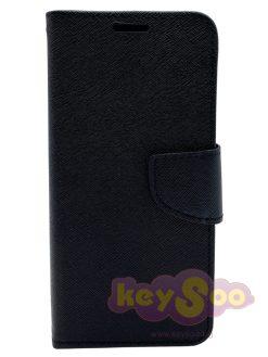 Fancy Book Case Black-Samsung Galaxy A5 2018