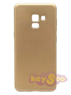 Jelly Case Flash Mat Gold - Samsung Galaxy A5 2018