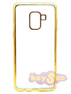 ELECTRO Jelly Case Gold-Samsung Galaxy A5 2018