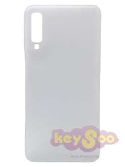 Forcell SOFT Case White-Samsung Galaxy A7 2018
