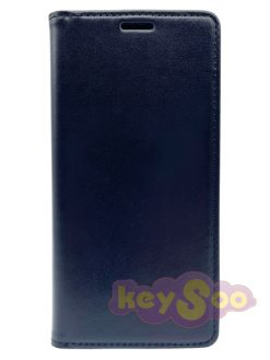 Magnet Book Case Black-Samsung Galaxy A7 2018