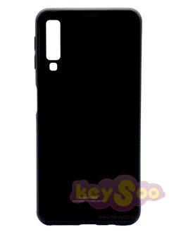 Glass Case Black-Samsung Galaxy A7 2018
