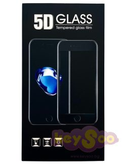 5D Full Glue Tempered Black Стъклен Протектор-Huawei P20 Lite