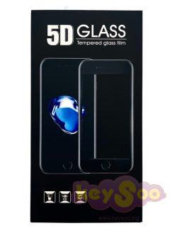 5D Tempered Glass Black Стъклен Протектор – Samsung Galaxy A21s